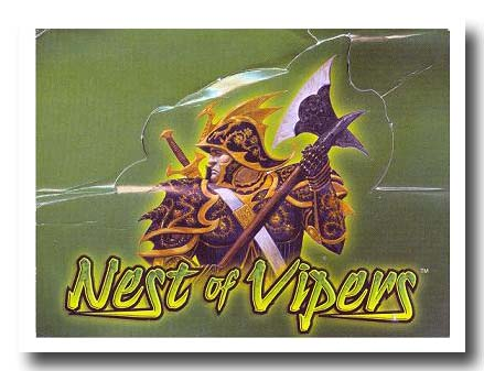 Warlord CCG Nest of Vipers Constructed Deck