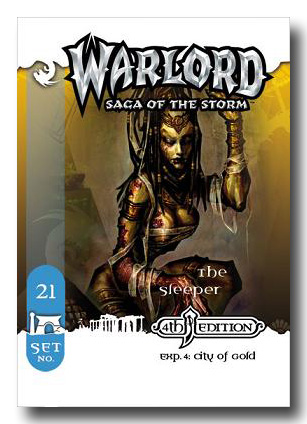 Warlord CCG City of Gold 4th Edition The Mummy APS 21