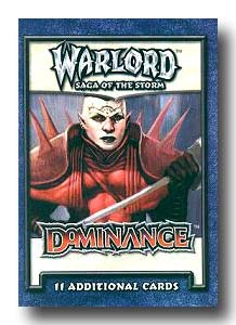 Warlord CCG Dominance Booster