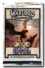 Warlord CCG Good and Evil Booster