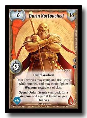 Warlord CCG Champions Durin Kortouched
