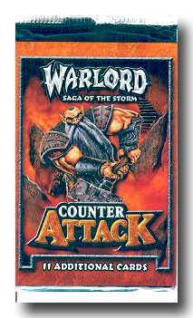 Warlord CCG Counter Attack Booster