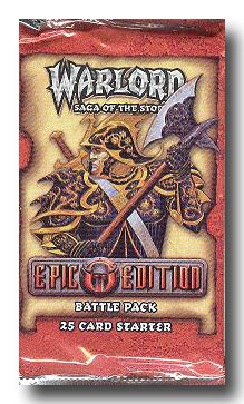 Warlord CCG Epic Edition Battle Pack