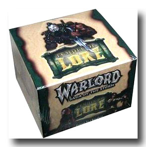 Warlord CCG Temple of Lore Battle Pack Box