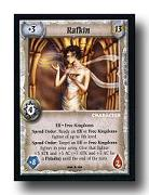 warlord ccg 4E Rafkin 10th anniversary Deck 10AORS Warlord Saga of the Storm