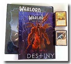 Warlord CCG Warlord Saga of the Storm Stoeln Destiny Binders