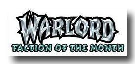 WARLORD CCG Faction of the Month Promotion