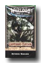 warlord ccg warlord saga of the storm Campaign Edition nothrog deck