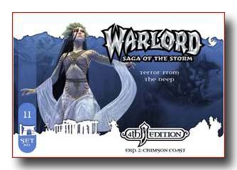 Warlord CCG Crimson Coast 4th Edition Terror from the Deep APS