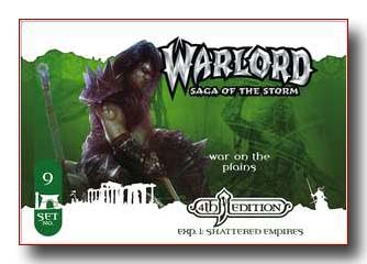 Warlord CCG Shattered Empires 4th Edition War on the Plains APS