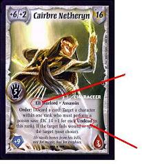 Warlord CCG Cairbre Netheryn