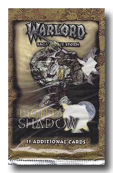 Warlord CCG Light and Shadow Booster
