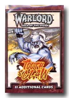 Warlord CCG Tooth and Claw Booster