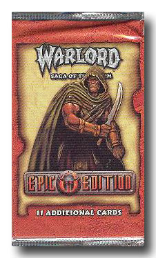 Warlord CCG Epic Edition Booster