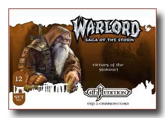 Warlord CCG Crimson Coast 4th Edition Virtues of the Stalwart APS
