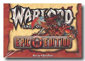 Warlord CCG Epic Edition Battle Pack Box