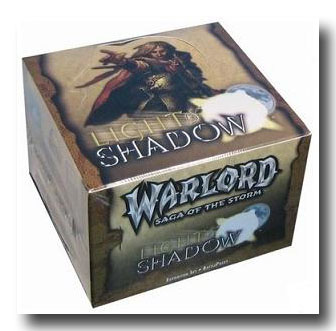 Warlord CCG Light and Shadow Battle Pack Box