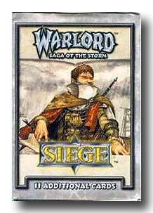 Warlord CCG Siege Booster