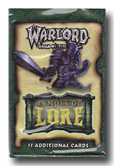 Warlord CCG Temple of Lore Battle Pack
