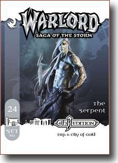 Warlord CCG City of Gold 4th Edition APS 24 The Serpent