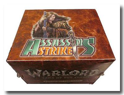 Warlord Saga of the Storm The Deck Box Assassins' Strike