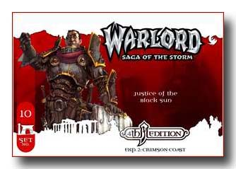 Warlord CCG Crimson Coast 4th Edition Justice of the Balck Sun APS