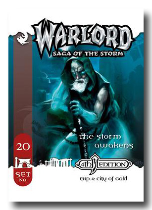 Warlord CCG City of Gold 4th Edition The Storm Awakens APS 20