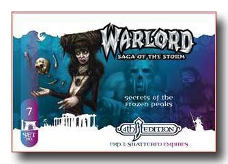 Warlord CCG Shattered Empires 4th Edition Secrets of the Frozen Peaks APS