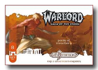Warlord CCG Shattered Empires 4th Edition Ports of Treachery APS