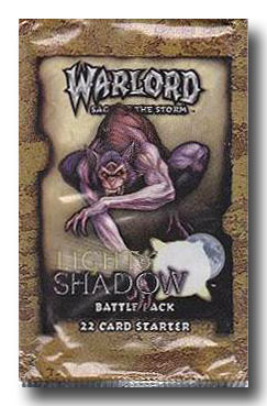 Warlord CCG Light and Shadow Battle Pack