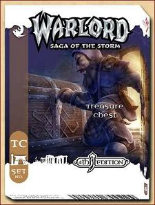 Warlord CCG Warlord Saga of the 4th Edition Treasure Chest Foil 10AORS 10th Anniversary Deck PREMIUM